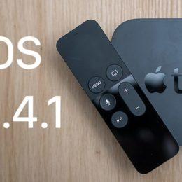 Apple today released tvOS 11.4.1